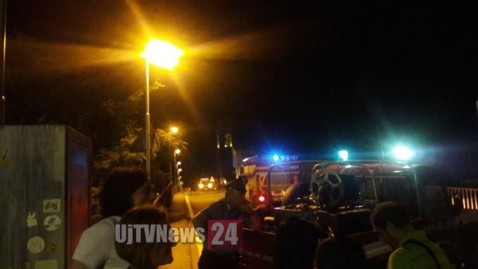 Petrignano d'Assisi, fuga di gas durante la festa, chiuso il ponte