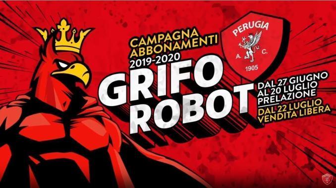 Grifo Robot, Perugia lancia campagna abbonamenti