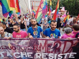 Non un passo indietro, contro omotransfobia, Art1 aderisce a manifestazione