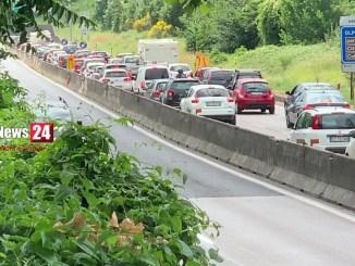 Perugia città prigioniera del traffico, caos per lavori infiniti