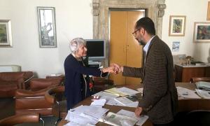 Consegnato il Thyrus d'Oro a Renata Ersilia Stefanini Salvati