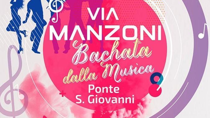 Via Manzoni 29 giugno a Ponte San Giovanni sala da ballo a cielo aperto