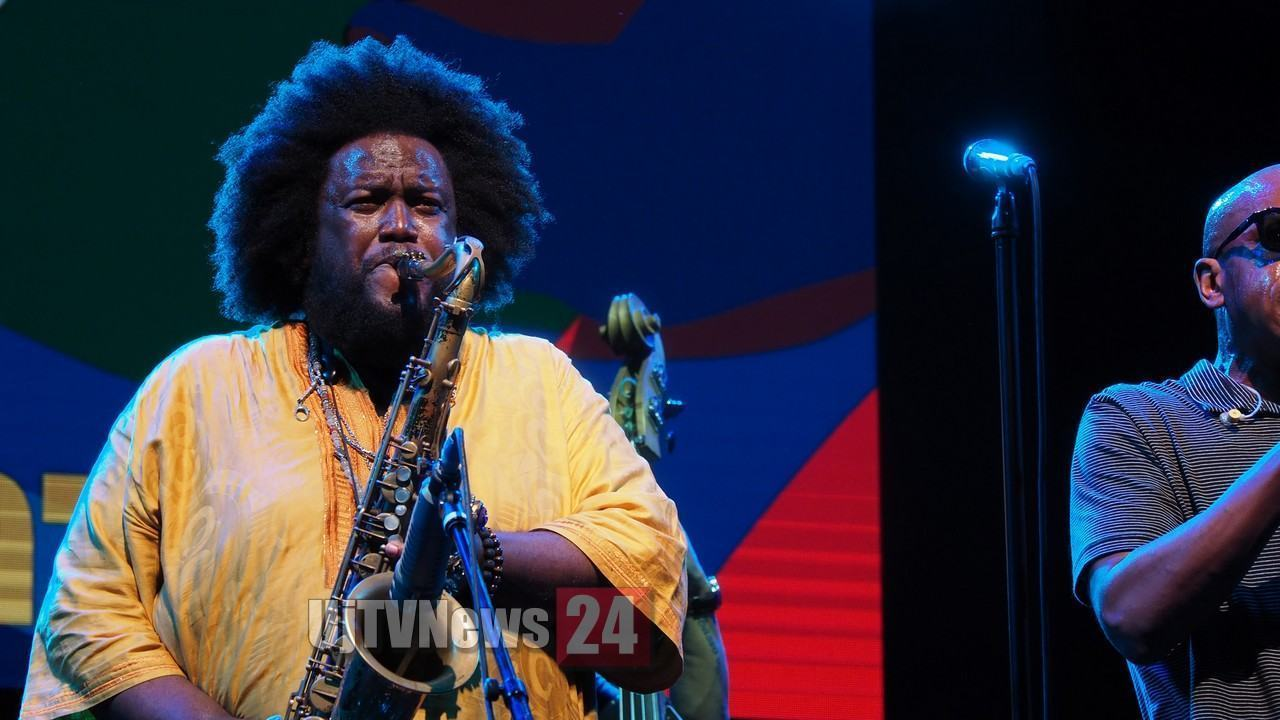 Kamasi Washington, per la seconda volta, calca il palco dell'Arena di Umbria Jazz
