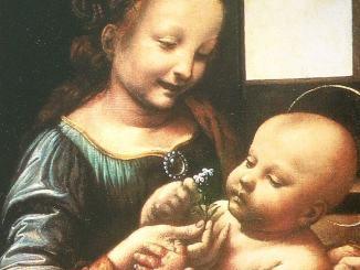 Madonna Benois di Leonardo da Vinci alla Galleria Nazionale dell' Umbria