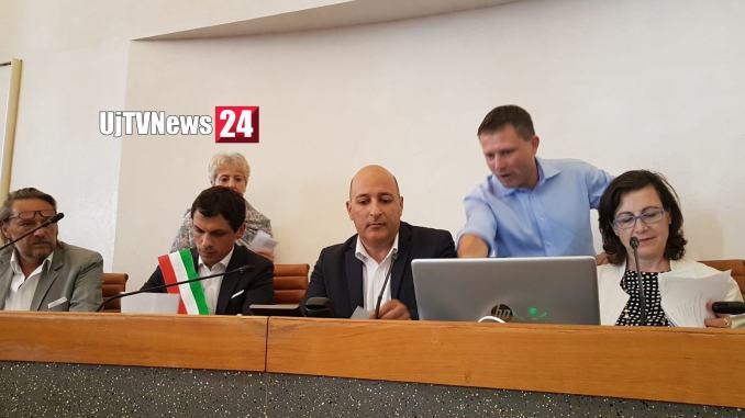Si è insediato il nuovo Consiglio comunale di Perugia, Nilo Arcudi presidente