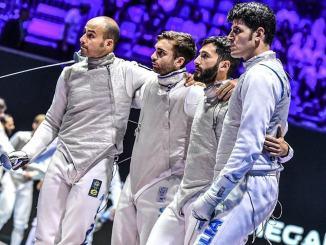 Scherma, Mondiali Budapest: Foconi trascina l'Italia al bronzo a squadre