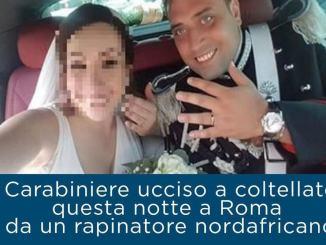Carabiniere ucciso, scontro violento via social tra Zaffini e Bori