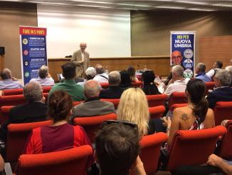 Claudio Ricci Presidente raccolta firme e liste ultimate