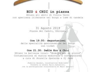 Eco&Chic, sabato 31 agosto sfilata di moda in piazza dei Caduti a Corciano