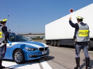Polizia Stradale intensifica controlli per contenimento diffusione COVID-19