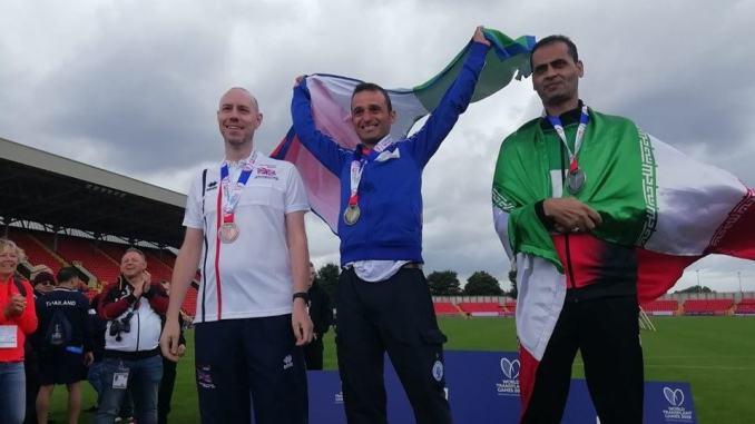 Doppio podio di Stefano Selva ai 22esimi World Transplant Games