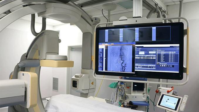 Installato nuovo angiografo trattamenti efficaci sui pazienti colpiti da infarto