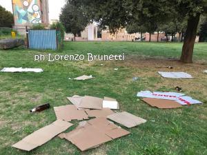 Piazza del Bacio a Fontivegge, il degrado, ora servono Guardie del decoro