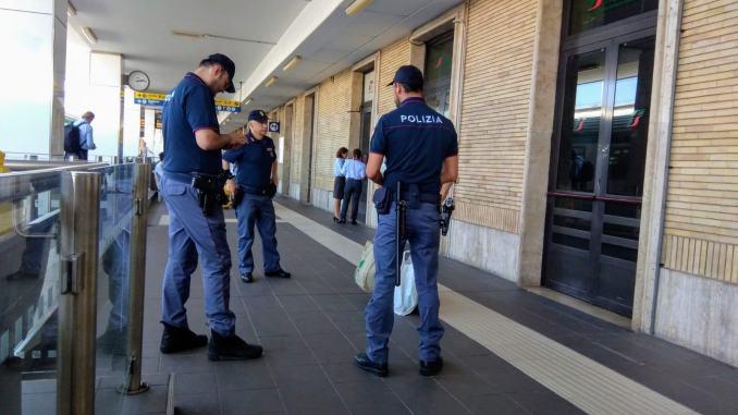 4 persone arrestate, controlli stazioni ferroviarie Marche, Umbria e Abruzzo