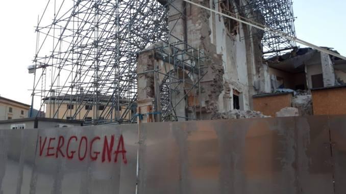 Comitato Pro Basilica 3000 firme da Norcia, salvate la facciata della chiesa