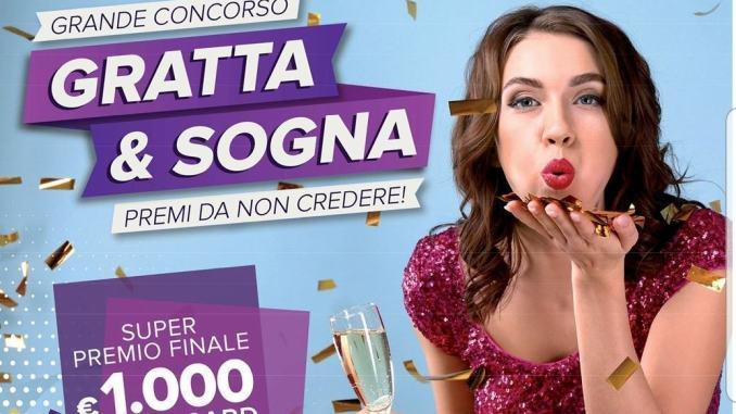 """""""Gratta & sogna"""" premi bellissimi al Centro Commerciale Collestrada"""