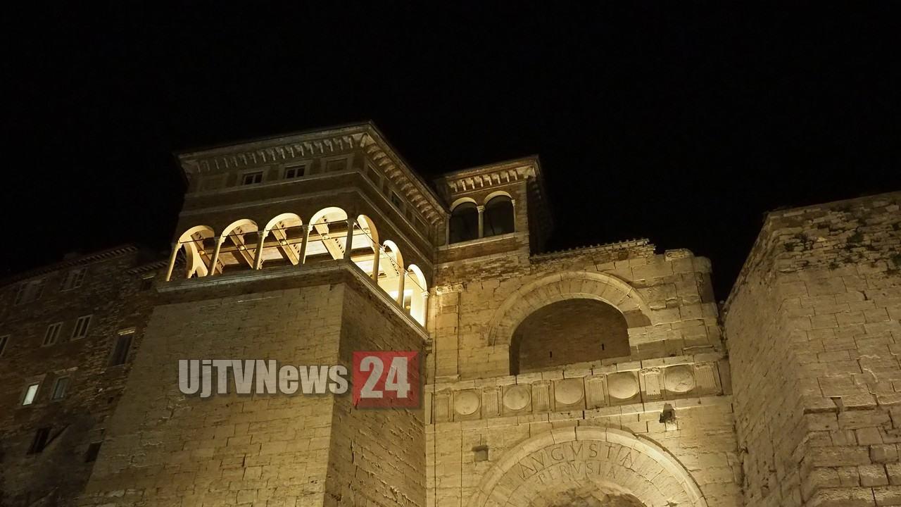 Presentazione libro l'Arco Etrusco, 15 febbraio 2020, interviene Cucinelli