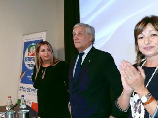 """Forza Italia sarà determinante """"Per vittoria centrodestra"""" dice Tajani"""