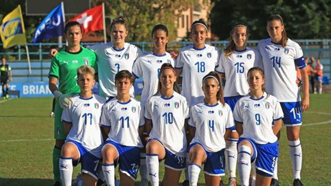 Amichevole Italia-Serbia, le azzurrine giocheranno a Bastia Umbra