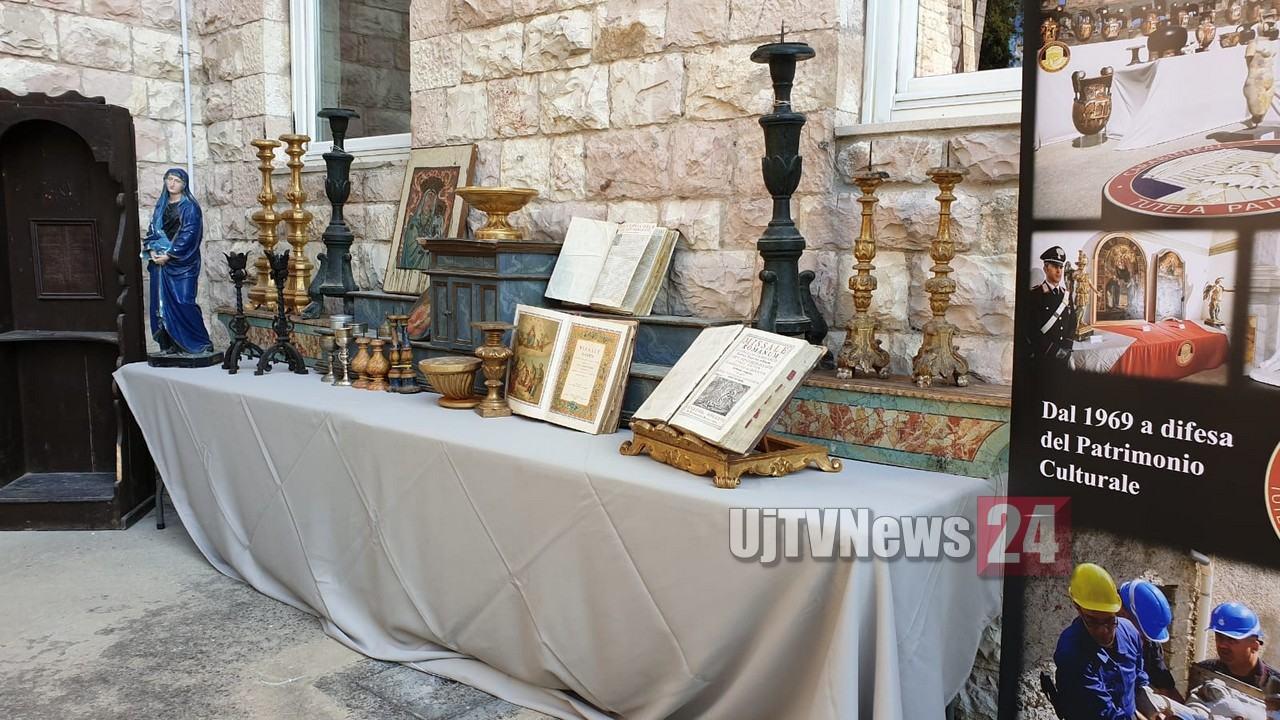 Carabinieri recuperano opere d'arte rubate, conclusa maxi operazione   Foto