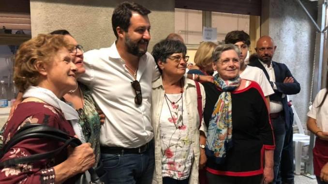 Salvini alla Festa della Cipolla, ma il presidente Damaschi dice che...