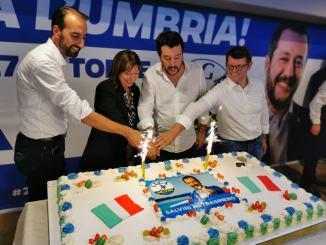 Elezioni Umbria, Salvini, chi non va a votare è complice del vecchio