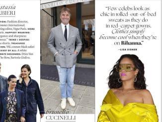 Brunello Cucinelli The best dressed 2019 del magazine Vanity Fair Usa