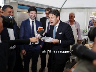 Giuseppe Conte arriva a Perugia alle 15,30 già decine i giornalisti accreditati