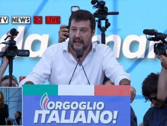 Matteo Salvini esorta gli Umbria a liberarsi dalla sinistra