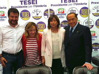 Centro destra unito in Umbria e piazza gelo tra leader per Casapound