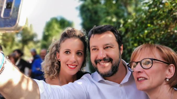 Riecco Matteo Salvini in Umbria, il Capitano a Perugia, Marsciano e Todi