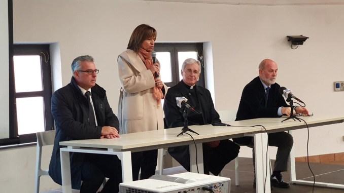 Norcia ha ricordato il terremoto del 2016, era presente la presidente Tesei | Video