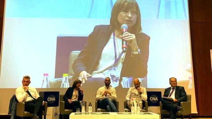 Donatella Tesei ospite all'assemblea di Cna a Perugia