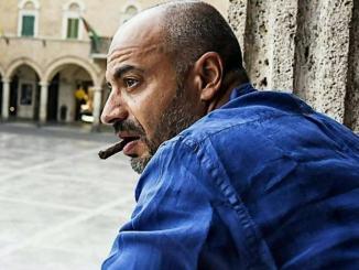 Senatore 5s Gianluigi Paragone a Perugia venerdì 18 ottobre 2019