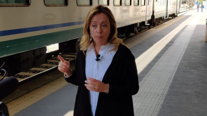 """Giorgia Meloni, """"Immigrazione, aprire centri di sorveglianza in Umbria"""""""