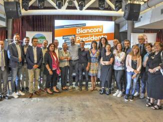 Presentata la lista di Bianconi Presidente, Andrea Fora numero vice di Vincenzo