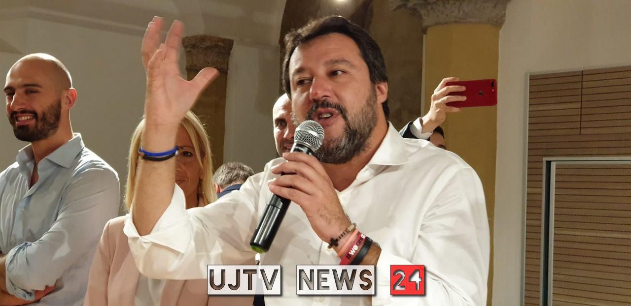 Matteo Salvini a Terni, Narni e Ferentillo, il 7 e 8 ottobre