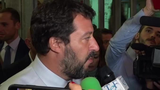 Salvini visita Carcere di Capanne: «Perugia non è una discarica»