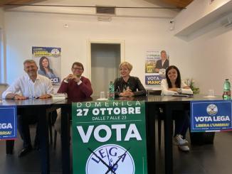 Mancini e Peppucci incontrano amministratori Media Valle del Tevere
