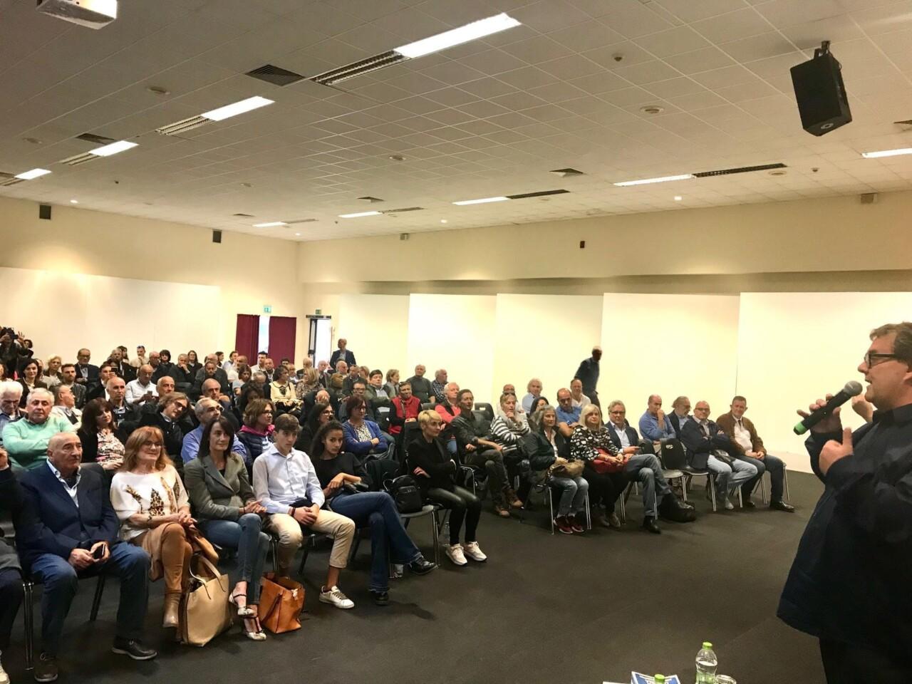 Coalizione Civica Ricci Presidente, oltre 700 a Umbria Fiere
