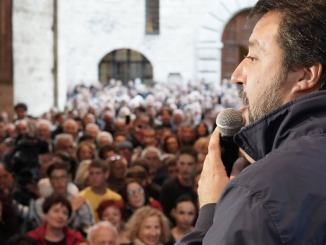 Salvini a Narni e Terni, il 27 ottobre Lega prima partito