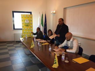 Coldiretti Umbria, elezioni regionali, incontro a Norcia con Bianconi e Tesei