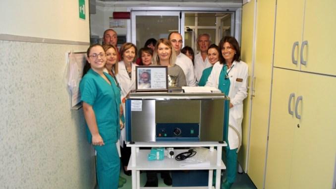 Donazione alla Terapia Intensiva Neonatale di Terni in ricordo di Michele