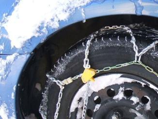 Scatta obbligo catene da neve a bordo, l'elenco delle strade nel Ternano
