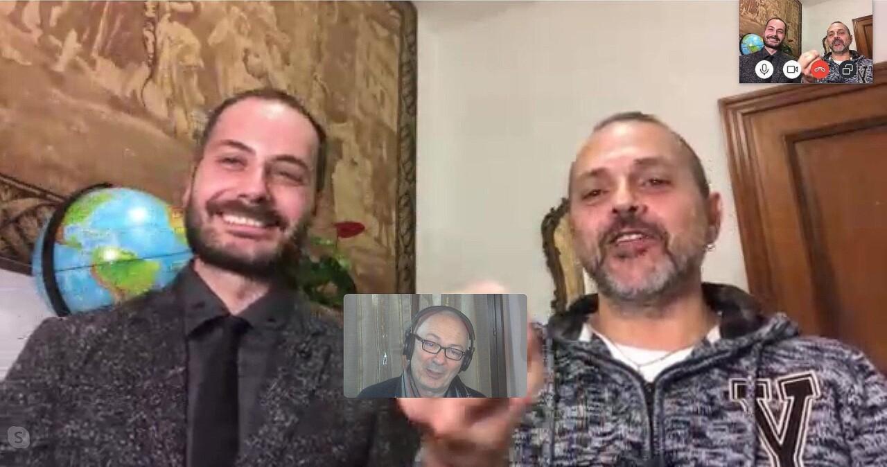 Intervista con Luca Montali e Michael Crisantemi, le Sardine dell'Umbria contro Matteo Salvini [VIDEO]