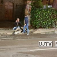Aggredito da balordo mentre va a gettare immondizia, voleva 500 euro | FOTO E VIDEO
