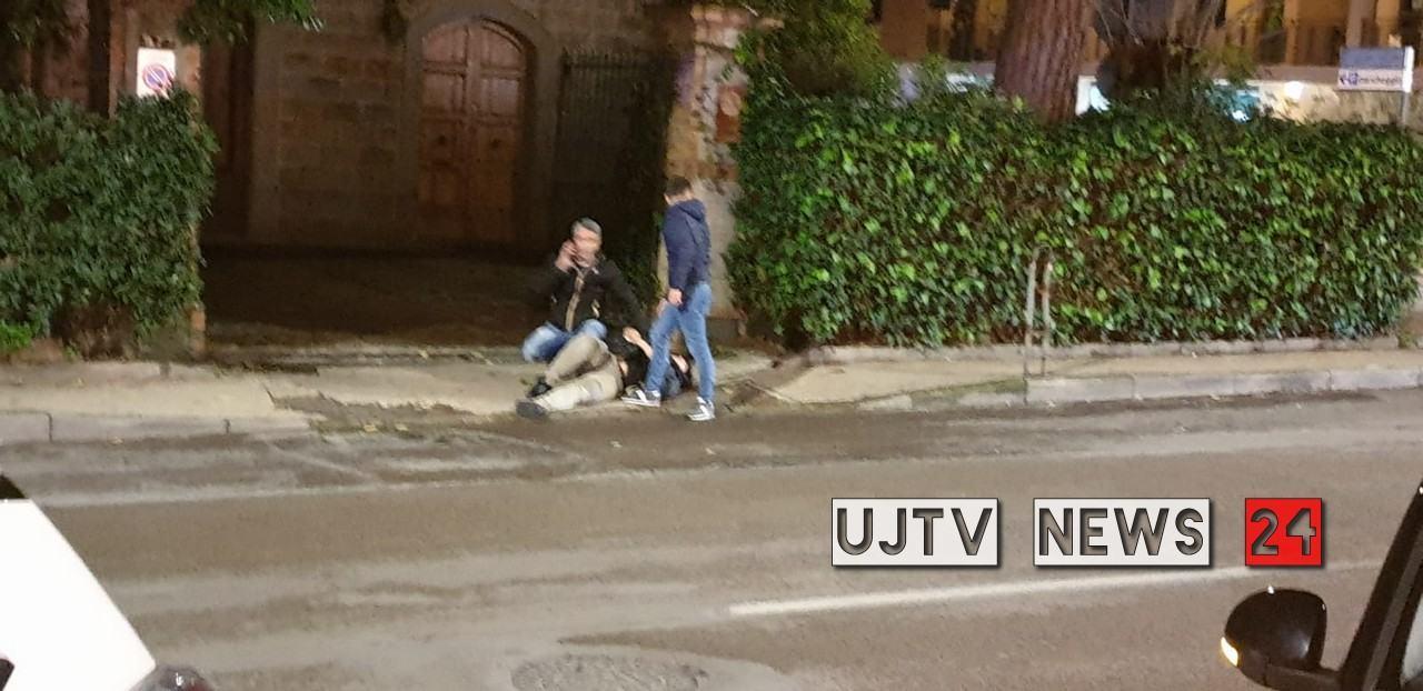 Aggredito da balordo mentre va a gettare immondizia, voleva 500 euro   FOTO E VIDEO