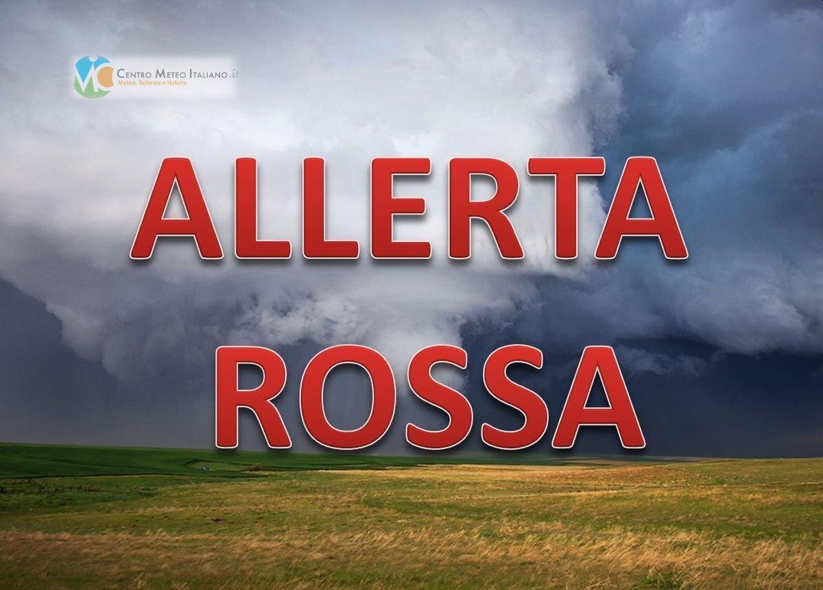 Allerta rossa in Veneto, e allarme altre in 5 regioni, c'è anche l'Umbria