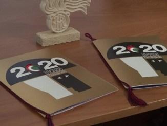 E' narrativo il calendario del 20120 dell'Arma dei Carabinieri, le immagini