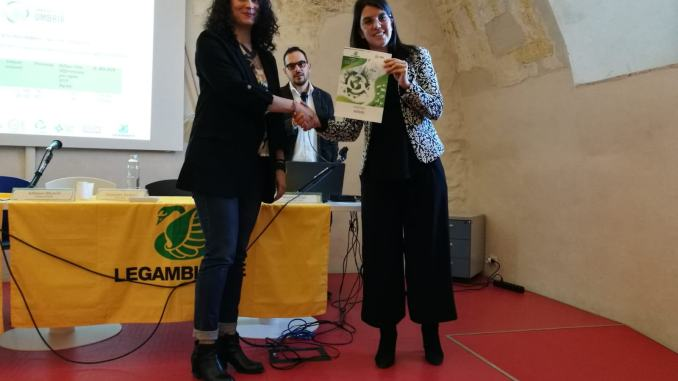Assisi premiato come comune riciclone, a Narni l'assegnazione